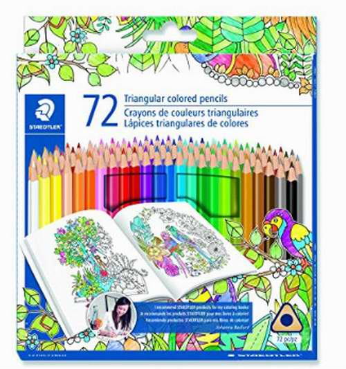 历史最低价!Staedtler 1270C72BLU 彩色铅笔 15.97加元(72支),原价 29.78加元