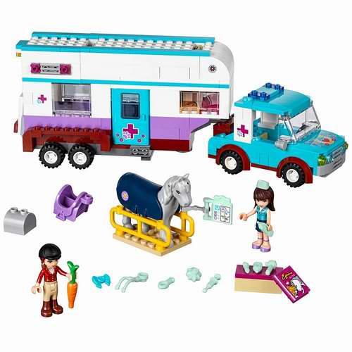 LEGO 乐高 41125 好朋友系列 小马医疗房车 37.49加元(370pcs),原价 49.99加元,包邮