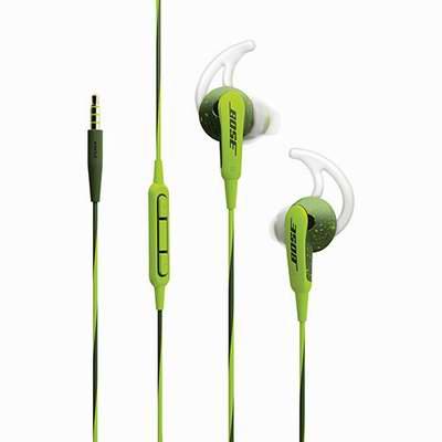 Bose SoundSport 绿色款 耳塞式运动耳机(iPhone版)59.99加元,原价 99.99加元,包邮