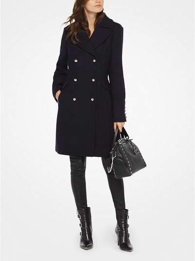 Michael Kors 双排扣羊毛混合大衣 186.75加元,原价 295加元,包邮