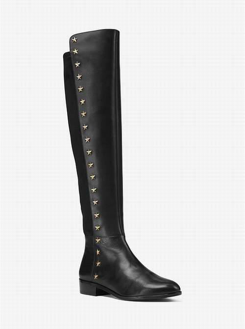 MICHAEL KORS Bromley 柳钉及膝长靴 199加元,原价 398加元,包邮