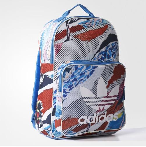 Adidas 阿迪达斯 Originals 经典印花双肩包 24.97加元,原价 75加元