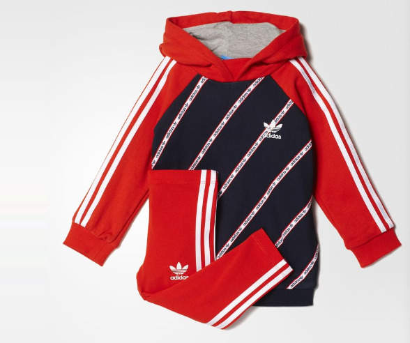 Adidas KG Originals Infants婴儿连帽套装22.47加元(6/9M),原价 65加元