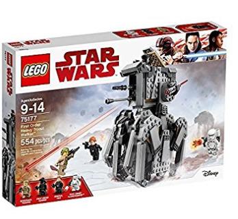 手慢无!历史新低!LEGO 星球大战 75177 重型侦察步行机5.4折 35加元包邮!