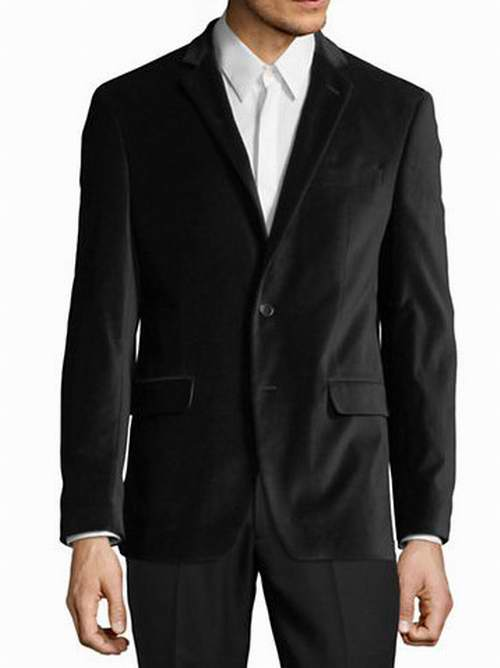 CALVIN KLEIN男士天鹅绒休闲夹克 118加元(2色),原价 295加元,包邮