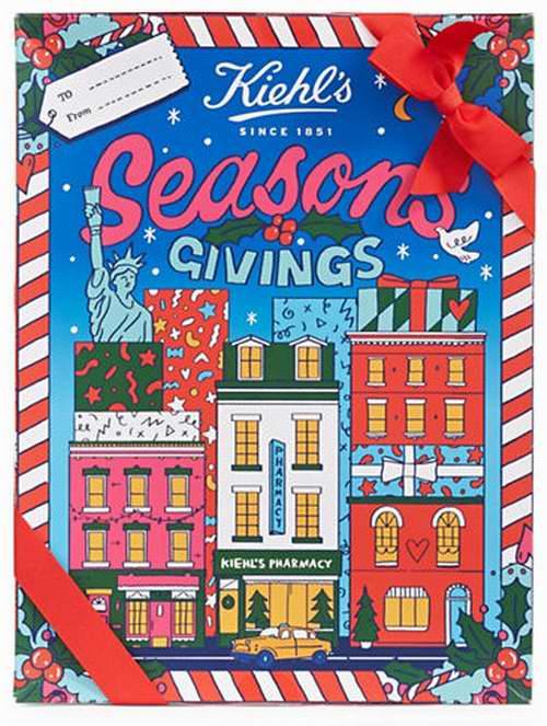 Kiehls x Kate Moross 限量圣诞节礼盒装 价值170加元 仅售 80.1加元!