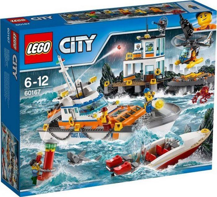 LEGO 乐高 60167 海岸警卫队总部 111.75加元(1403pcs),原价 149加元,包邮
