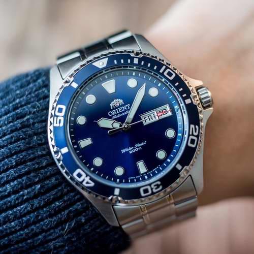 历史最低价!Orient 东方双狮 FAA02005D9  'Ray II'男士潜水腕表/手表 159加元,原价 262.71加元,包邮