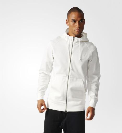 Adidas 阿迪达斯 Originals XbyO 连帽卫衣 白色款  52.47加元,原价 150加元