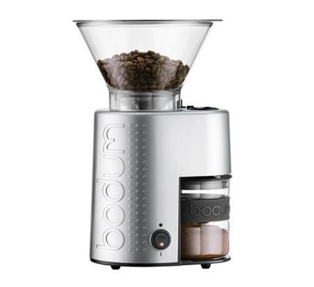 Bodum 波顿 Bistro Burr 多段式不锈钢电动咖啡豆研磨机 102.5加元,原价 150加元,包邮