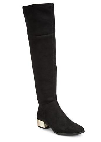 ANNE KLEIN Textured 过膝靴 149.06加元,原价 265加元,包邮