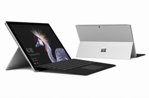 黑五专享!微软 Surface Pro + 黑色Type Cover套装( 酷睿i5/4GB/128GB) 1149.99加元 ,原价 1468.99加元,包邮