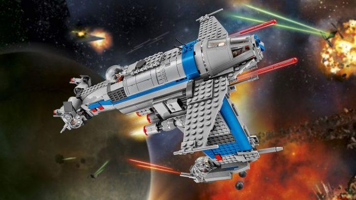 LEGO 乐高75188 STAR WARS 反抗军轰炸机 104.25加元,原价 139加元,包邮
