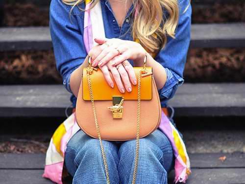 时尚达人疯抢!红遍明星圈的Chloé 小猪包,金属圆环手袋 7折起特卖!