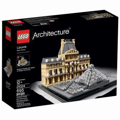 DIY夜景绚丽!LEGO 乐高 21024 建筑系列 卢浮宫 56.24加元,原价 74.99加元,包邮