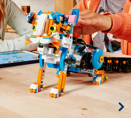 手慢无!LEGO 乐高 17101 BOOST 全新可编程机器人 159.99加元包邮!