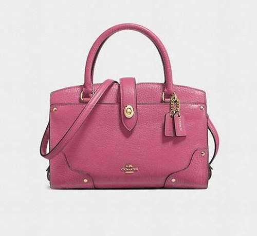 Coach 蔻驰 mercer satchel 24 手袋 175加元,原价 350加元,包邮