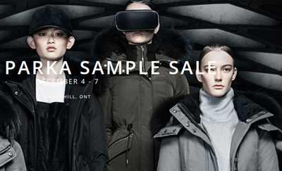 多伦多 Canada Goose,Versace,雅诗兰黛,MAC等品牌特卖会预告!