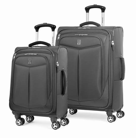 金盒头条:历史新低!Travelpro Inflight 21/25寸 轻质软壳 可扩展拉杆行李箱2件套1.9折 123.62加元包邮!