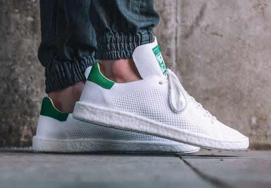 Adidas Stan Smith Primeknit 男士小绿鞋/运动鞋3.6折 49.97加元包邮!