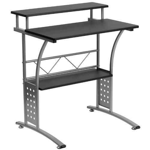 Flash Furniture NAN-CLIFTON-BK-GG 电脑桌 98.45加元包邮!