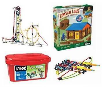 金盒头条:精选36款 K'Nex 益智积木拼插玩具套装3.4折起!售价低至4.98加元!