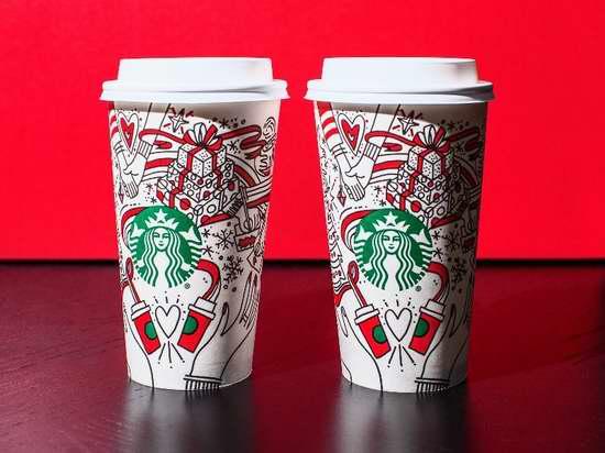 Starbucks 星巴克 本周四起,假日饮品买一送一!