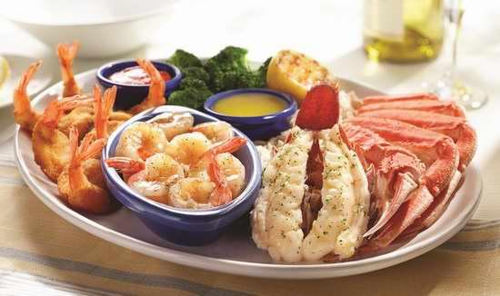 Red Lobster 红龙虾海鲜餐厅 双人就餐,立省3-4元!
