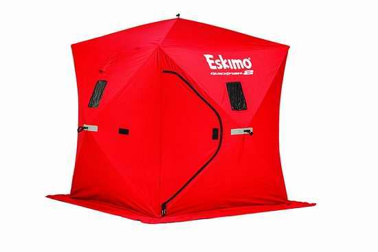 历史新低!Eskimo Quickfish 2 双人冰钓帐篷 179.99加元包邮!