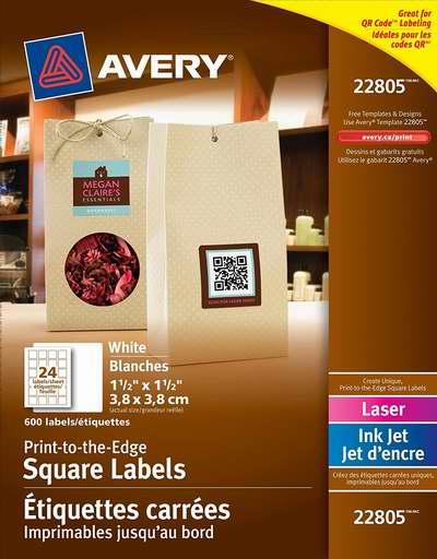 金盒头条:精选6款 Avery DIY打印标签/贴纸/信封地址签等6.5折起特卖!售价低至5.94加元!