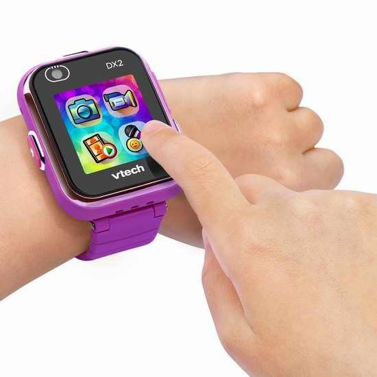 历史新低!新一代 VTech 伟易达 Kidizoom DX2 儿童拍照智能腕表 55.96加元包邮!男女宝宝两色可选!