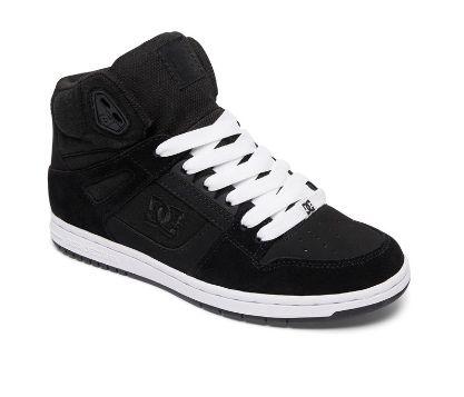 DC Shoes Rebound High SE 女士黑色真皮高帮 休闲运动鞋3.4折 32.19加元!