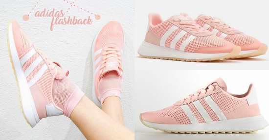 李圣经、CL都抢着入手!Adidas FLB 浪漫粉色轻便运动鞋3.2折 32.47加元包邮!码齐!两色可选!