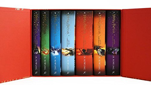 Harry Potter 哈利波特(1-7)合集儿童精装硬壳版6折 122.4加元包邮!