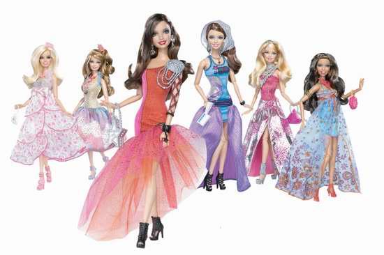 精选多款 Barbie Fashionistas 芭比玩偶特价销售,售价低至7.77加元!