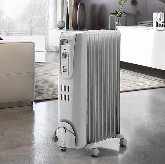 Delonghi 德龙 TRH0715CA 专利高效散热 电热油汀 89.25加元包邮!会员专享!