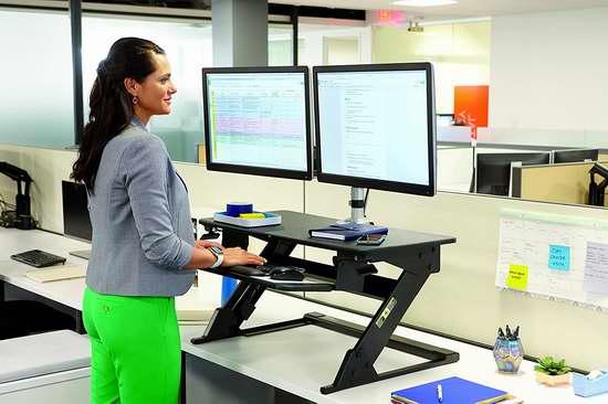 金盒头条:历史新低!3M Precision 坐立两用 可调式电脑增高工作台5折 299.99加元包邮!