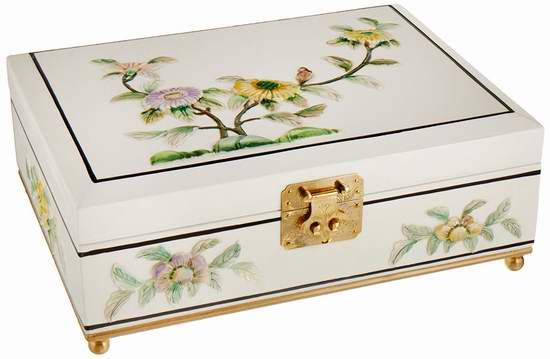 历史新低!Oriental Furniture 中国传统首饰收纳盒2.6折 25.55加元!