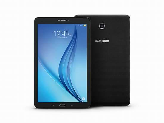 历史新低!Samsung 三星 Galaxy E 9.6寸平板电脑 199.92加元包邮!黑白2色可选!