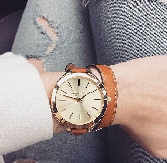 历史新低!Michael Kors MK2256 女式金色石英腕表/手表5.9折 115.76加元包邮!
