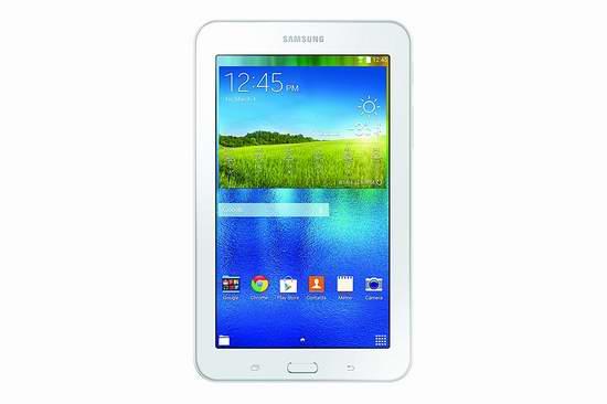 历史新低!Samsung 三星 SM-T113NDWAXAC Galaxy 7寸平板电脑(1GB/8GB) 99.95加元包邮!