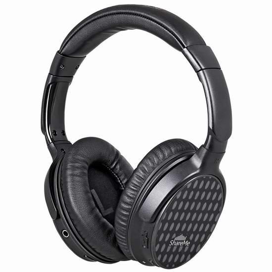 白菜价!历史新低!Mixcder ShareMe Pro 头戴式蓝牙无线HiFi耳机2.7折 15.99加元清仓!购买2个或以上降为12.79加元!