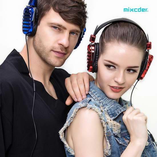白菜价!Mixcder Mic5 超轻头戴式有线耳机2.1折 7.99加元!买2个降为5.49加元!