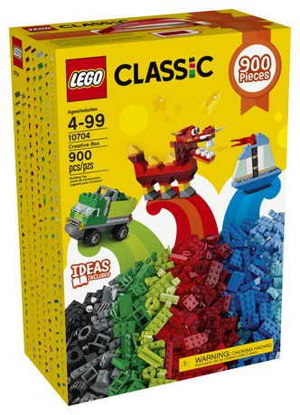 黑五专享!手慢无!LEGO 乐高 经典系列 10704 大型创意箱积木套装(900pcs) 24.88加元!