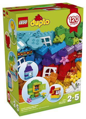 黑五专享!快抢!LEGO 乐高 经典系列 10854 得宝 大型创意箱(120pcs) 24.88加元!适合2-5岁幼儿!