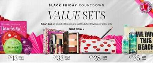 Sephora 黑色星期五折扣套装开卖!