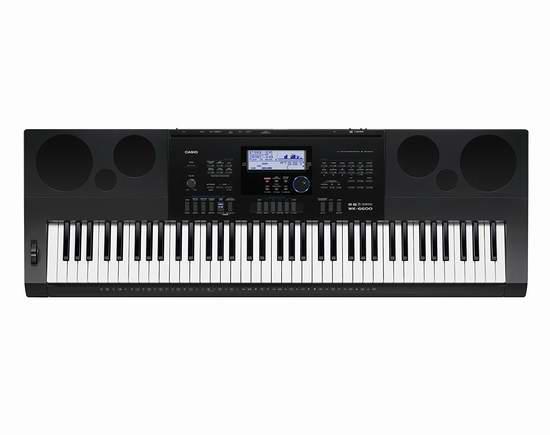 历史新低!Casio 卡西欧 WK6600 76键 专业演奏级电子琴5折 244.99加元包邮!