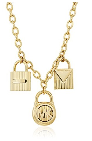 历史新低!Michael Kors MKJ6821710 Hamilton 金色三锁项链2.2折 77.72加元包邮!