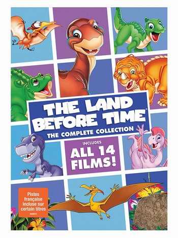 金盒头条:《The Land Before Time 历险小恐龙》14部电影DVD合集4.9折 28.99加元!