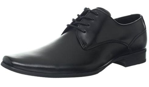 历史新低!Calvin Klein Brodie 男士真皮系带牛津鞋4折 55.99加元包邮!